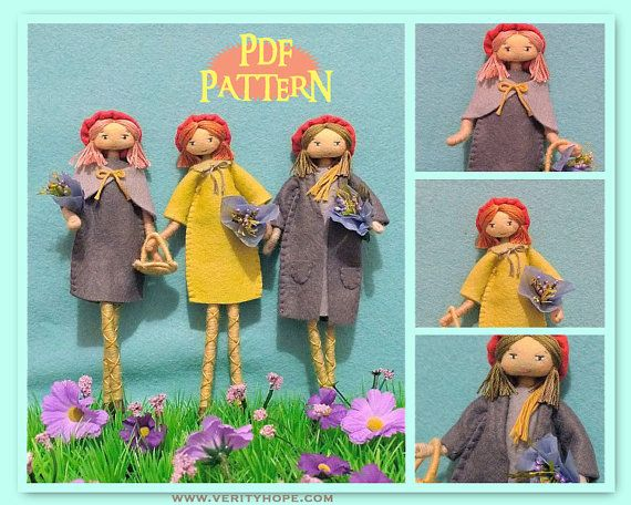 pdf downloadable cloth doll making tutorial