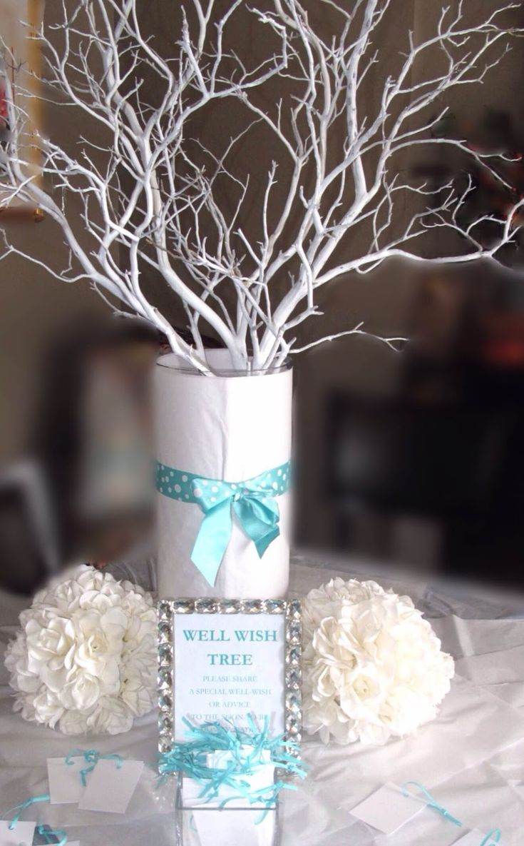 Tiffany Blue Themed Baby Shower Baby Shower Ideas