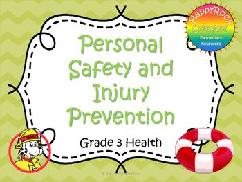 Looking for a great way to review or assess the grade 3 Ontario health strand Personal Safety and Injury Prevention? Check out these task cards! These 12 task cards cover a range of curriculum expectations and content information (fire safety, water safety, safe Internet use; fire safety plans and differentiating between violence in media vs.