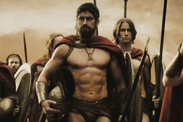 20 Best Shirtless Movie Muscle Men of All Time. This is how you go from obscurity to the cover of Men's Health in no time. Hell, there's even a 300 workout thanks to this guy.