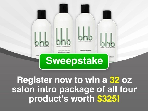 Win $325 Worth Salon Intro Package. http://www.bhbhair.com/sweepstake/