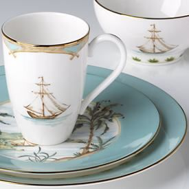 Made in the USA:  British Colonial Casual Dinnerware by Lenox  (okay, the name isn't politically correct, but I think this casual set is beeeooootiful!!)
