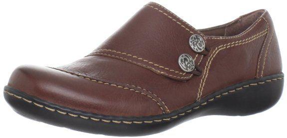 COMFY LOAFERS: Clarks Women's Ashland Alpine Slip-On Loafer: Shoes