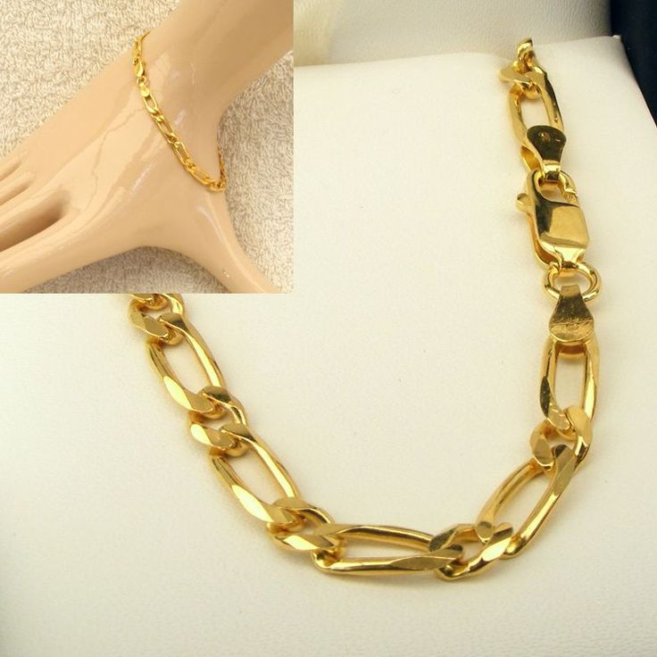 Buy 9ct Gold Figaro Chain (MM-F11-0031) online at Chain Me Up