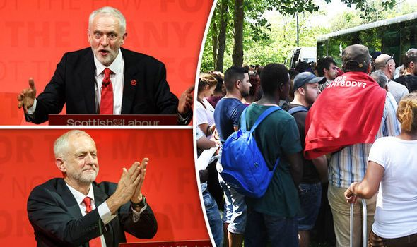 "'Jeremy Corbyn as Prime Minister could force UK immigration to ...  On Friday, Mr Corbyn said he is ""making no promises"" to cut immigration, should he .... ""likely increase"" the number of people coming to Britain, the Sun reports.  #UnitedSolicitors #Immigration"