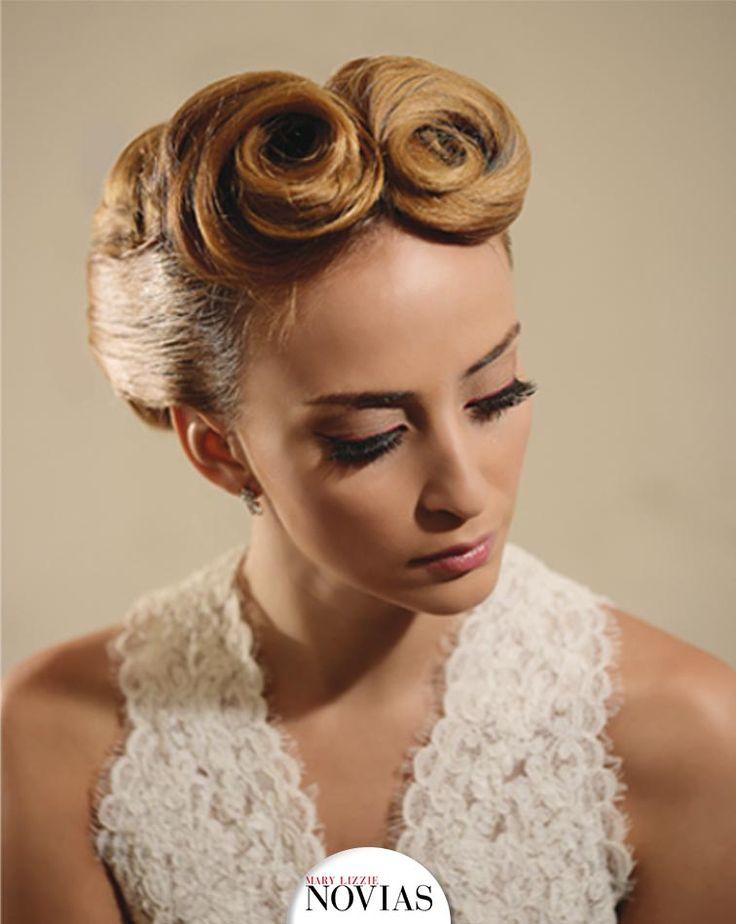 GLAMOUR RETRO En los años 40, los peinados se