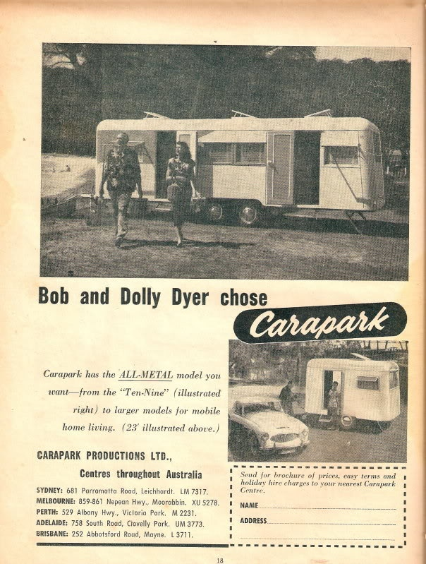 Carapark Caravan:
