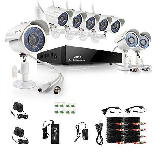 http://ift.tt/1mcy23e ZMODO Überwachungssystem 8 Kanal Kamera Set CCTV 960H DVR Videoüberwachung 700TVL wasserdichte Überwachungskamera keine Festplatte !!fikilru$$