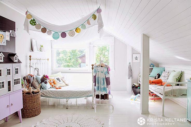 DORMITORIO INFANTIL VINTAGE   CASITA DE MUÑECAS | Decorar tu casa es facilisimo.com