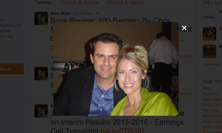 Brett Maas Hayden Investor Relations Professional  - Follow Brett Maas on Twitter for his latest tweets about investor relations, small caps, and the financial markets industry. #BrettMaas #Investor #Relations