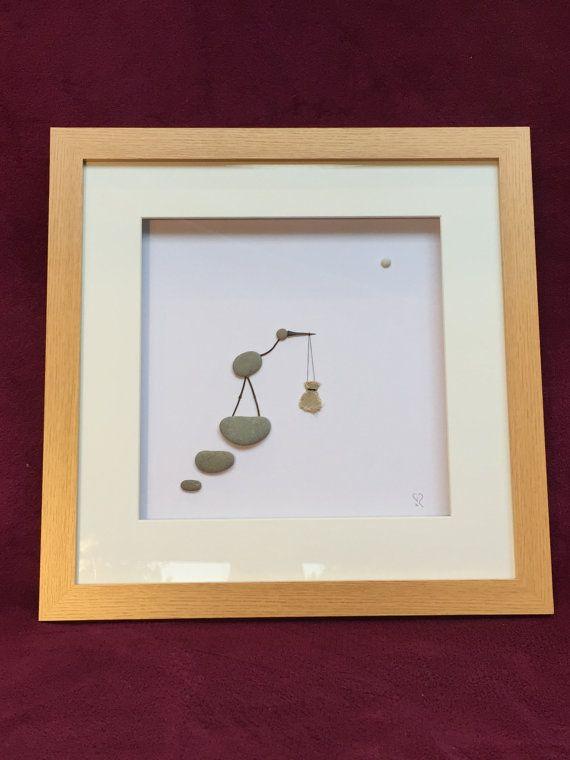 Neuheit Zeitgenössische Kunst-Arbeit. Fertige Frame Größe 45 x 45cm 3,5 cm tief Würde ein einzigartiges Geschenk für ein Baby-Dusche machen. Aufgrund der fragilen Beschaffenheit dieser Arbeit inklusive Versand Versicherung auf den Wert Ihres Artikels. Wir sind gerne für Sie, Ihr Stück zu sammeln, wir befinden uns in Woking, Surrey. UK