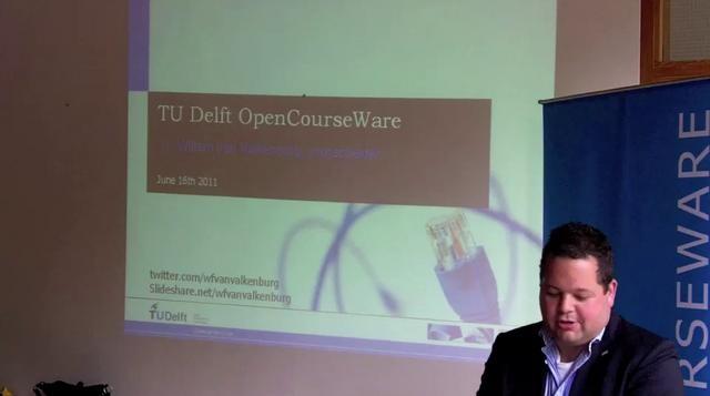 Tijdens het Lustrum zal Willem van Valkenburg, projectleider e-learning in TU Delft, zijn visie vertellen op het onderwijs.