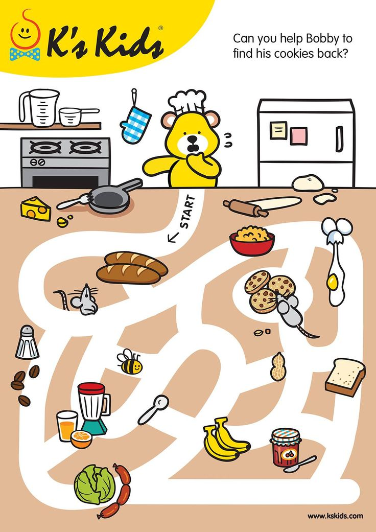 pin by gordana sekuli on baker and chef maze worksheet teaching kids mazes for kids. Black Bedroom Furniture Sets. Home Design Ideas