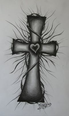 Cross Drawings | Cross I designed and drew :)