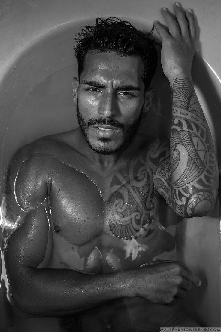 Male Fashion Trends: Paulo Philippe para Brazilian Male Model por Thiago Martini