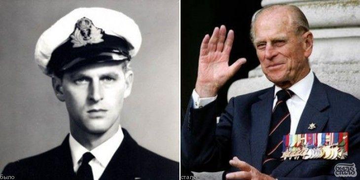 Принц  Филипп  Маунтбеттен. В 1952, после смерти короля Георга VI и восшествия на престол Елизаветы II, стал супругом царствующего монарха, но титул принца-консорта не принял. Титул принца (обычно присваивается прямым потомкам короля) присвоен Филиппу в 1957. После 1952 принц Филипп полностью посвятил себя службе королевской семье, выполняя многочисленные церемониальные и благотворительные обязанности. Он является покровителем около 800 организаций.
