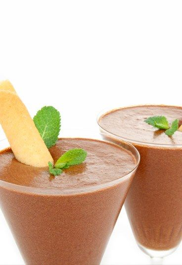 Receta de Mousse de Chocolate - 10 Postres de Chocolate para San Valentín