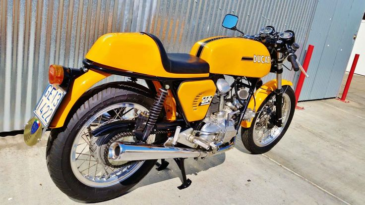 Used 1974 Ducati 750 SPORT Motorcycles For Sale in California,CA. A 1974 Ducati 750 GT, converted to a Sport modelin excellent condition from the famed bevel drive era. It will be the pride of any respectable collection! This 750GT/Sport was in a private collection in Tuscany, Italy for the last 20 years and is now for sale in SoCal. This 1974 Ducati 750 with the famed Round Case Bevel Drive engine started off as a GT model, but it was to changed to the racier looking Sport model with the…