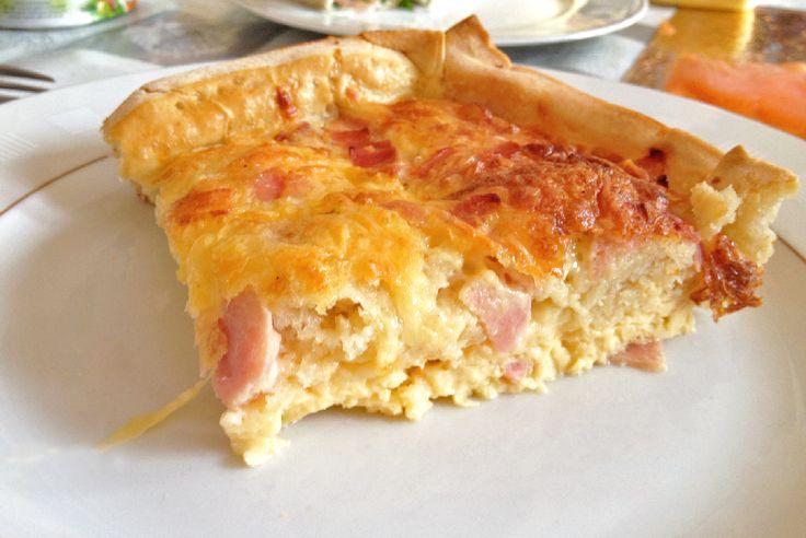 Ingezonden door Kimberly: ham-kaas quiche - Lekker en Simpel