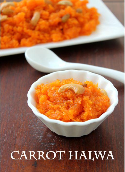 Crock Pot Indian Recipes- Carrot Halwa