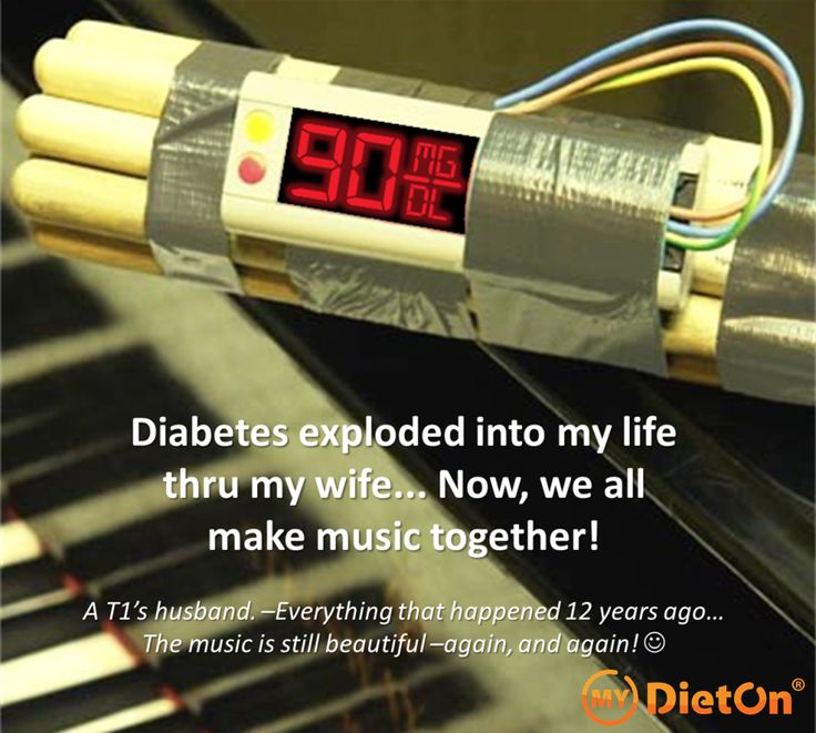 Living with diabetes shouts for creativity.