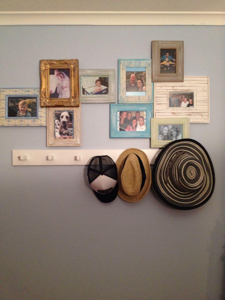 Repurposed photo frames