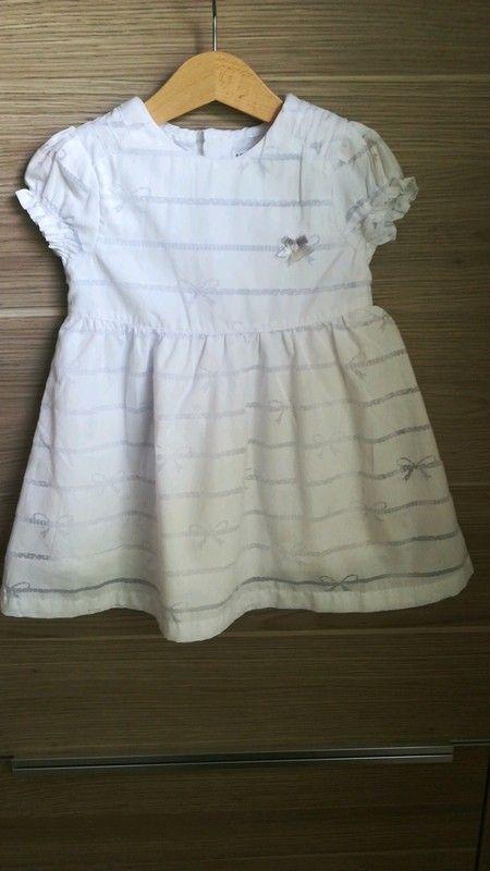 20f419346a0 Süßes festliches weißes Sommer Kleid von Kanz