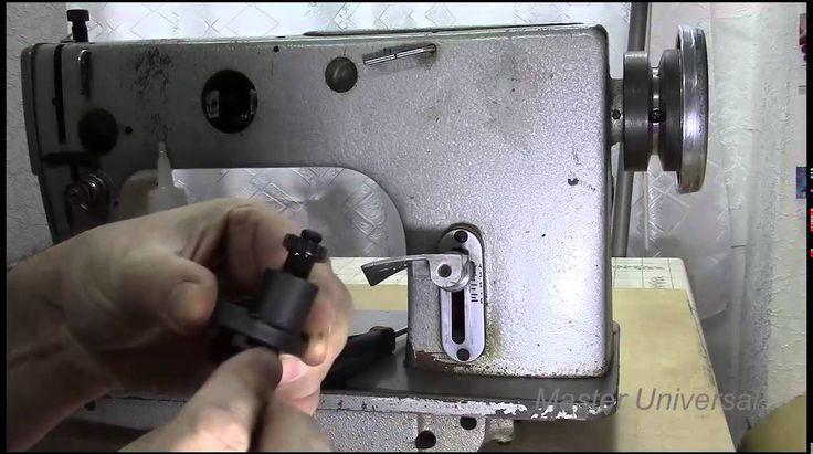 Профилактика и ремонт промышленной швейной машинки1022 класса.Часть 1.Ви...
