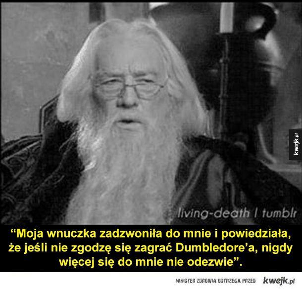 Ciekawe wypowiedzi aktorów z filmów o Harrym Potterze -