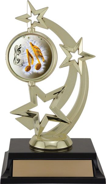 Star Spinner with Insert Holder (We can Create any sport or activity Insert for your award)