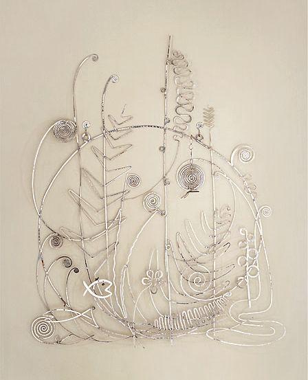 Guggenheim  Alexander Calder  Testiera di letto in argento (Silver Bed Head), inverno 1946  Argento, 160 x 131 cm  Collezione Peggy Guggenheim, Venezia 76.2553 PG 138  © Calder Foundation, New York, by SIAE 2011