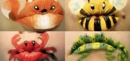 WAY cool makeup: Ideas, Make Up, Stuff, Lip Art, Makeup, Beauty, Animal Lips, Face Painting, Halloween