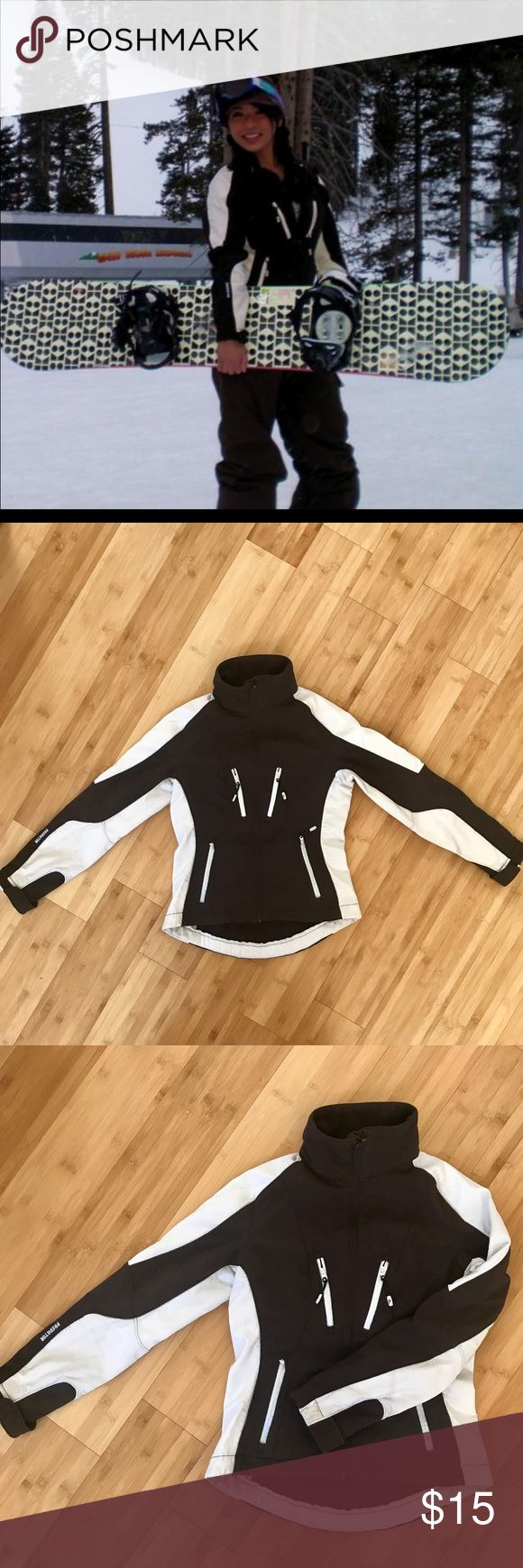 Waterproof snowboard jacket Lightly use snowboard jacket, light and comfortable. Predator brown/ Ivory Fleece Lined Hooded Waterproof Jacket predator Jackets & Coats Utility Jackets