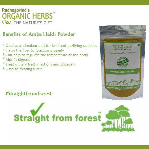 Benefits of Amba Haldi Powder  #Ambahaldi #StraightFromForest