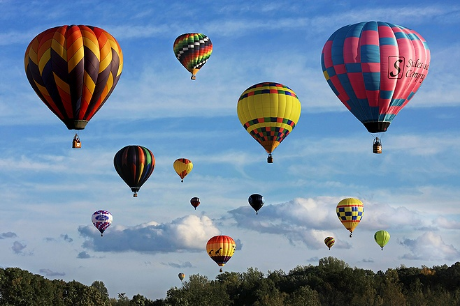 North Carolina Hot Air Balloon Fest I just liked it