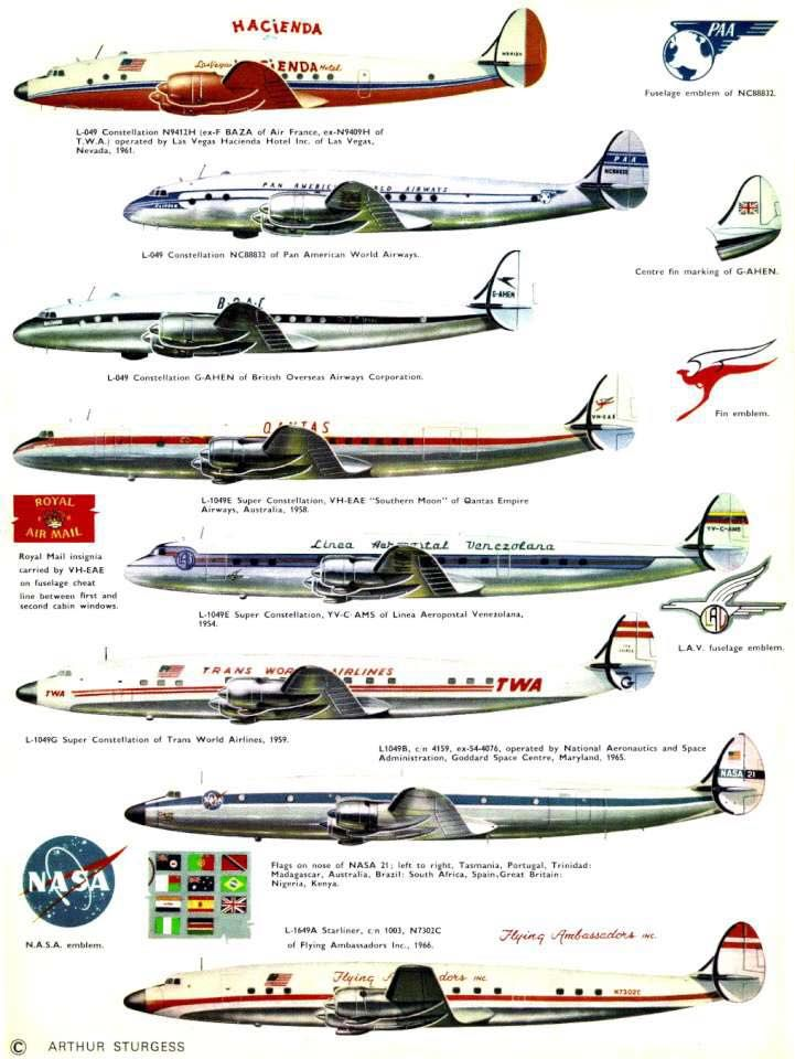 96 Best Images About Lockheed Constellation On Pinterest
