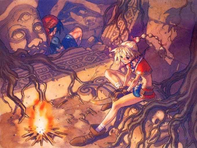 Campfire, Chrono Cross.