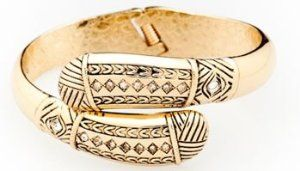 FUMI Bracelet Purse Hook – Bangle – Egypt Gold  #krissylovesbling