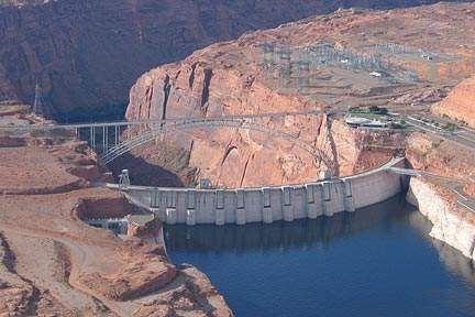 Building Glen Canyon Dam Glen Canyon Dam Is The Second