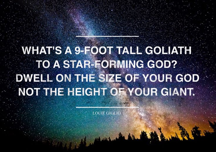Louie Giglio | God is bigger!