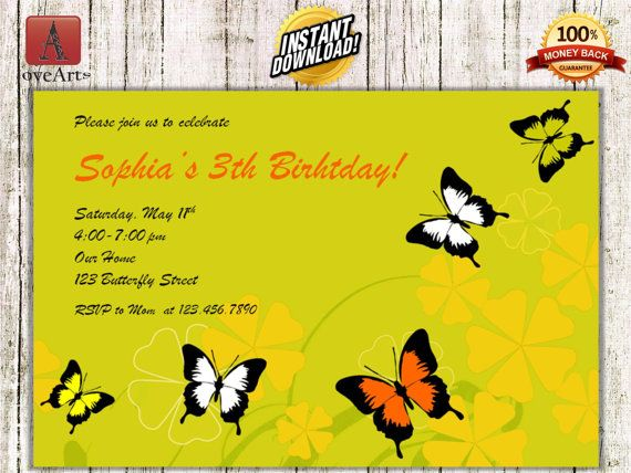 Hey, I found this really awesome Etsy listing at https://www.etsy.com/listing/241421647/instant-download-butterfly-invitation