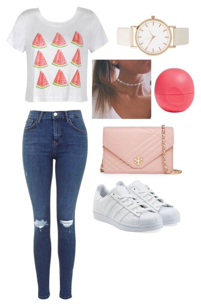 """""""Day in the markets"""" by hannahlee01 on Polyvore featuring Ally Fashion, adidas Originals, Eos and Tory Burch"""