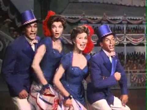 Frank Sinatra, Betty Garrett, Gene Kelly and Esther Williams in Take me ...