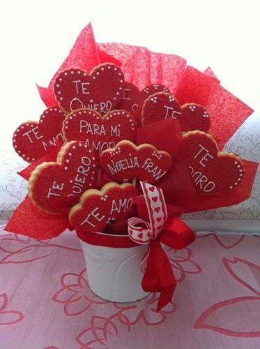 MACETA GALLETAS AMOR - BAKERY - FRESA Y CHOCOLATE