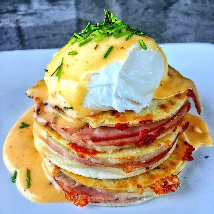 Homemade Eggs Benedict Quesadilla #FoodPorn 🍳 via Josh_Elkin