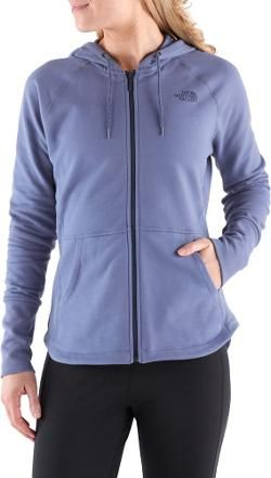 The North Face Women's EZ Hoodie Coastal Fjord Blue XS