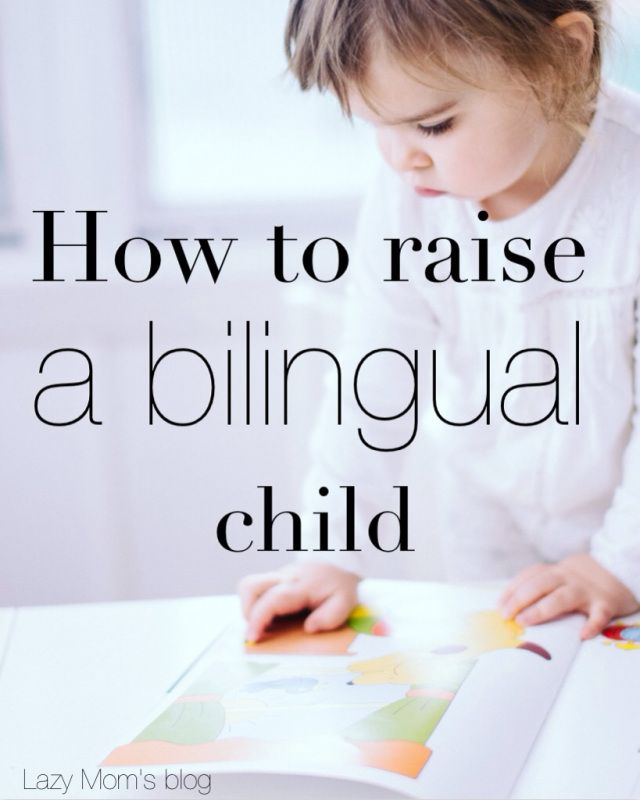 if you ever wandered if you could raise a bilingual child, here is how to do it. a step by step guide.
