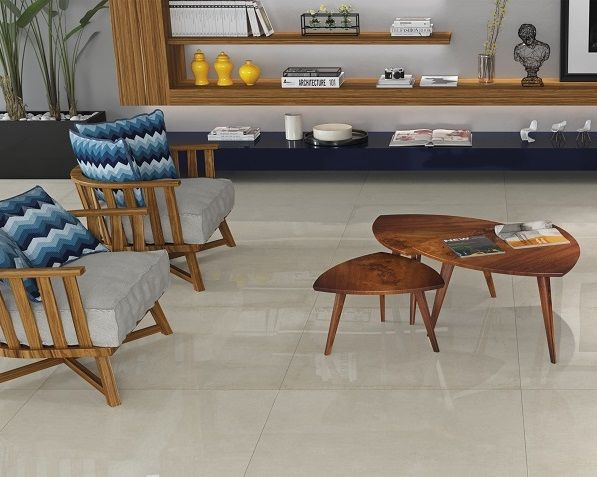 Lançamento 2016 Cerâmica Portinari. Coleção Detroit. O visual do cimento presente nos centros urbanos desponta como um elemento chave na decoração. O aspecto mais rústico contrasta com uma elegância minimalista no design dessa coleção, que foi inspirada nas cenas urbanas de Detroit. Para ambientes atuais e dinâmicos. Sala, polido, piso, brilho, azul,  decoração, mesa de centro, cimento.