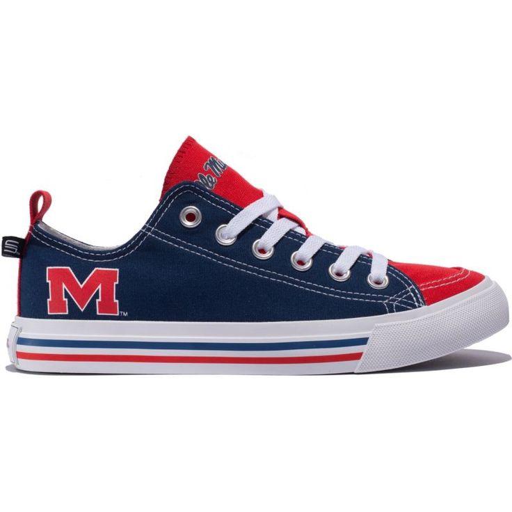 Skicks Ole Miss Rebels Low Top Sneaker, Team