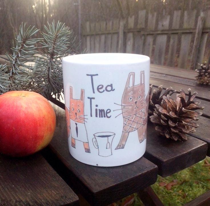Tea time mug by Pantografik